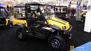 1. 2017 Cub Cadet Challenger 700 Utility ATV - Walkaround - 2016 Toronto ATV Show