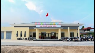 Khánh thành công trình Nhà văn hóa, khu thể thao khu Lạc Thanh, phường Yên Thanh