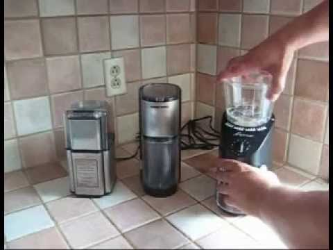 A Burr Coffee Grinder?  Or a Blade Grinder?