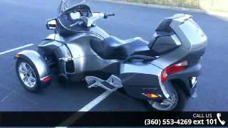 10. 2011 Can-Am Spyder RT SM5  - Lifestyles Honda - Mount Ver...