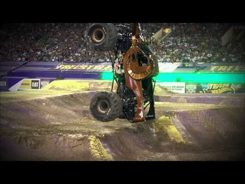 Monster Jam World Finals Freestyle on FOX Sports 1 - May 10, 2015