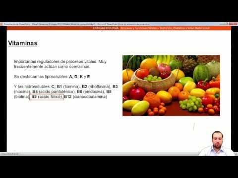Clase 5 Biología 2013: Nutrición, Dietética y Salud Nutricional
