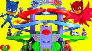 Video PJ Masks Nighttime Adventures Spiral Playset Race for Surprises MP3, 3GP, MP4, WEBM, AVI, FLV Desember 2017