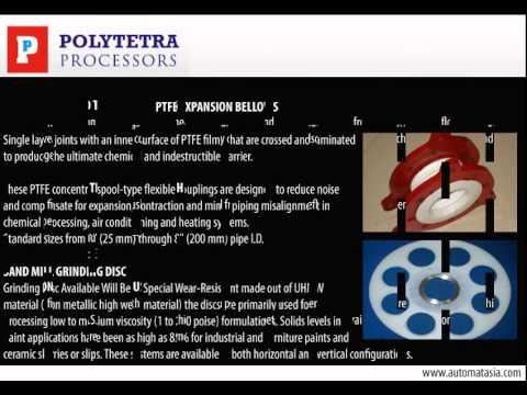 PTFE Components & Parts, Teflon Manufacturer India