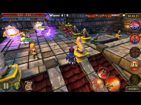 Video of Dungeon Defenders Xperia Play