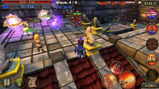 Dungeon Defenders Xperia Play YouTube video