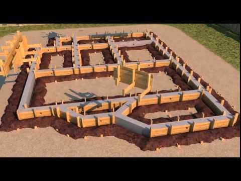 Поэтапное строительство дома (видео)