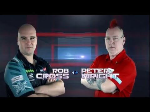 2018 US Darts Masters Semi Final Wright Vs Cross