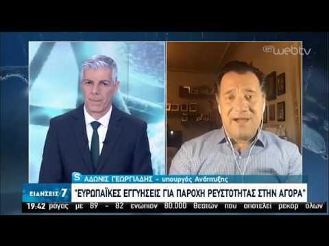 Ο Υπουργός Ανάπτυξης Α.Γεωργιάδης στην ΕΡΤ | 04/04/2020 | ΕΡΤ