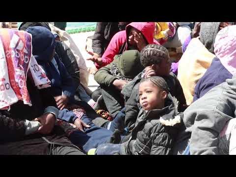 إنقاذ (211) مهاجرا غير قانوني شمال منطقتي الزاوية وجنزور