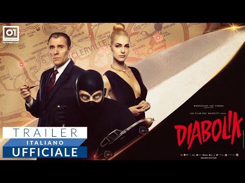 Preview Trailer Diabolik, teaser trailer del film dei Manetti Bros con Luca Marinelli (Diabolik) e Miriam Leone (Eva Kant)