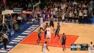 Carmelo Anthony's 62 vs LeBron James' 61 points vs Bobcats