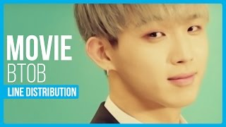 What is the line distribution like for BTOB's 'MOVIE'?Twitter : twitter.com/hexa6onkpopInstagram : instagram.com/hexa6onkpopLIKE the video if you enjoyedCOMMENT for any video suggestions or requests~SUBSCRIBE for more content just like this ^^
