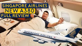 Video Onboard Delivery Flight of Singapore Airlines NEW A380! MP3, 3GP, MP4, WEBM, AVI, FLV Juli 2018