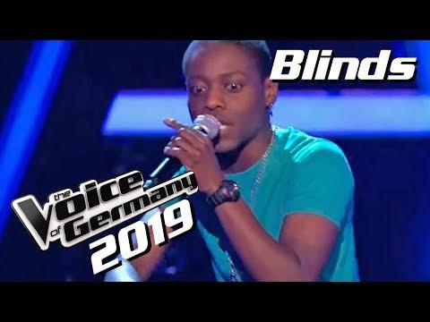 Eminem - Mockingbird (Tyrone Frank)   The Voice of Germany 2019   Blinds