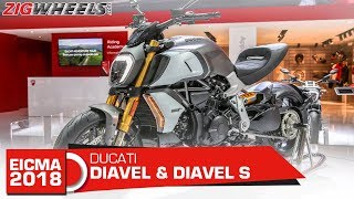 8. Ducati Diavel 1260 & 1260S  | Gets a new, meaner heart | EICMA 2018
