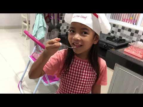 Zara Cute bikin Coklat Model Sendok  Makan Es Krim pakai Sendok Coklat