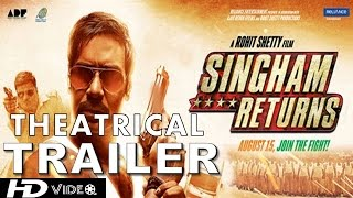 Nonton Singham Returns Official Theatrical Trailer   Ajay Devgn   Kareena Kapoor Film Subtitle Indonesia Streaming Movie Download