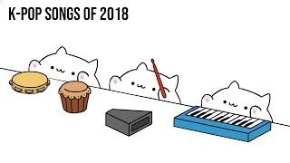 Bongo Cat - K-POP SONGS of 2018