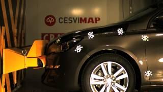Bumper test delantero Peugeot 308
