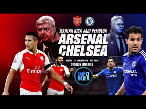 Jadwal Arsenal Vs Chelsea: Mengancam The Gunners