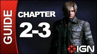 Resident Evil 6: Leon Kennedy Campaign Walkthrough - Chapter 2 pt 3