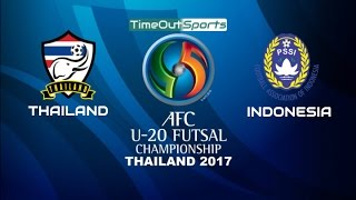 Video Thailand vs Indonesia (4-2) Highlights | AFC U20 Futsal Championship 2017 MP3, 3GP, MP4, WEBM, AVI, FLV Januari 2018