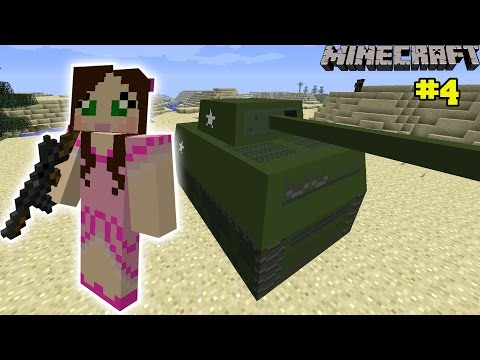 Minecraft: EPIC TANKS MISSION - The Crafting Dead [4]