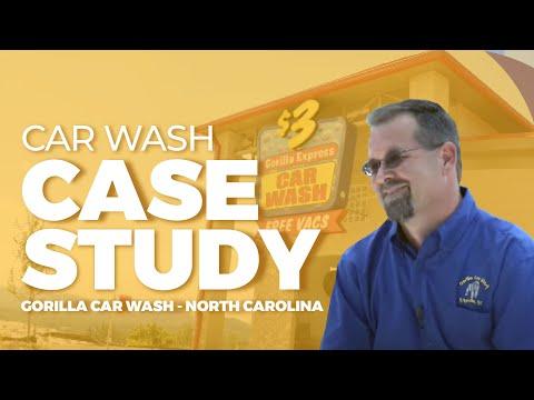 Car Wash Case Study - Gorilla Car Wash - Asheville, NC