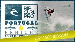 Day 1 Freesurf At Supertubos: Rip Curl Pro Portugal 2012