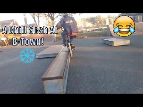 Webisode 5: Chillin' at B-Town Skatepark!