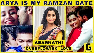 "Video ""Arya Is My Ramzan Date"" - Abarnathi Open Statement   Enga Veetu Mapillai MP3, 3GP, MP4, WEBM, AVI, FLV September 2018"