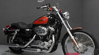 6. 2009  HARLEY DAVIDSON  XL1200C SPORTSTER 1200 CUSTOM - National Powersports Distributors