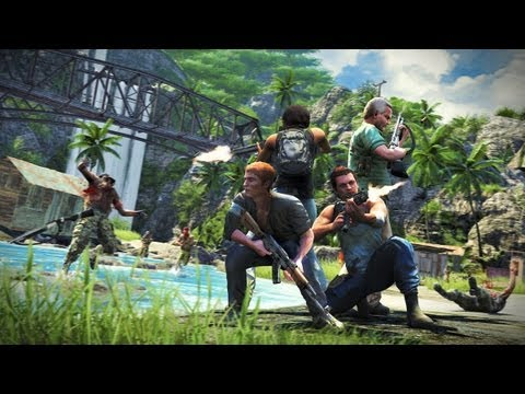 New Far Cry 3 Trailer Focuses on the Co-Op Campaign
