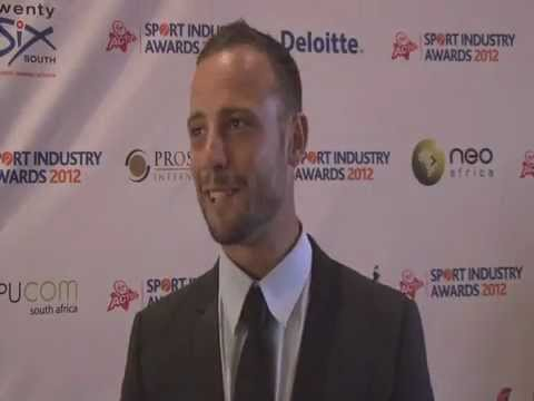 Sport (Industry) - Highlights of the red carpet, as celebs and nominees arrive for the Virgin Active Sport Industry Awards 2012 in Emperors Palace, Johannesburg.