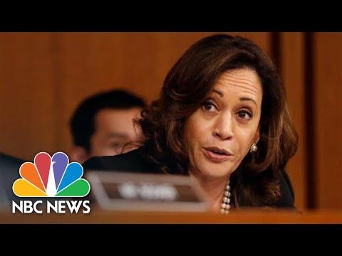 Senator Kamala Harris Grills Brett Kavanaugh On Robert Mueller Investigation   NBC News