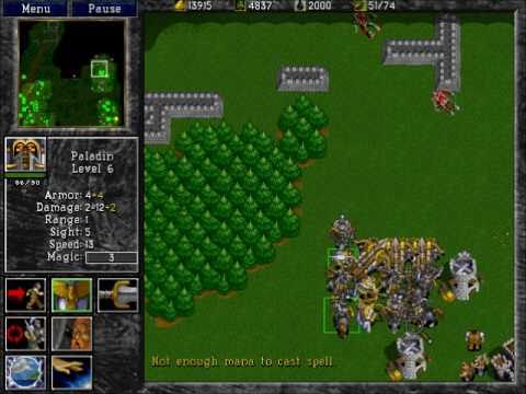 Warcraft 2: Tides of Darkness - Human Campaign Gameplay - Mission 11