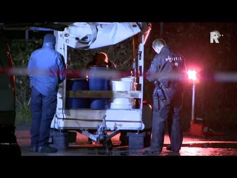 Gevaarlijke stoffen gevonden Duivenpad Rotterdam Hilligersberg