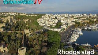 Dronevideo / Luchtvideo Rhodos stad - GriekseGids.TV
