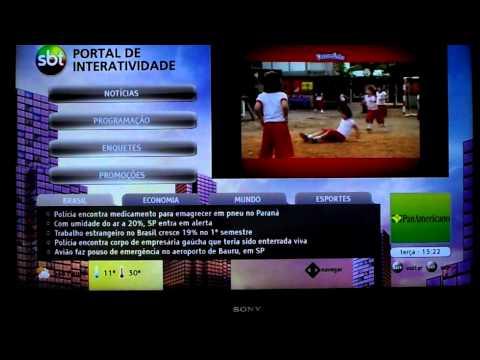 TV Digital: atualização de TVs Sony permite interatividade