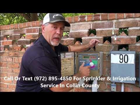 Sprinkler Timer Instructions - Irrigation Repair Contractor McKinney, Allen, Frisco, Collin County