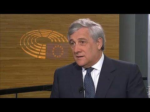Αντόνιο Ταγιάνι στο euronews: «Καθήκον των Ιταλών να λάβουν αποφάσεις για το μέλλον τους»…