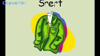 Basic English Vocabulary 4-  Clothing
