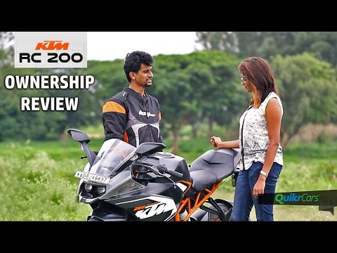 KTM RC200 Ownership Review | Buyer's Guide | QuikrCars