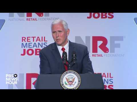 Vice President Pence addresses health care at retail summit