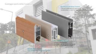 video thumbnail Aluminum Polystyrene composite door youtube