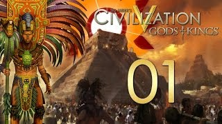 civilization 5 Let's Play Civilization V: Gods And Kings - The Mayans - Episode 1 ...Lay Of The Land