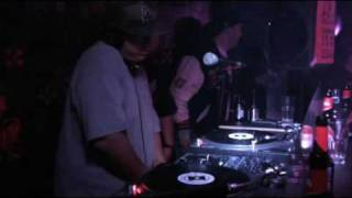 DJ Babu (dilated peoples) & DJ Cem // Beatpackers // May 2008