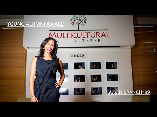 Young Alumni Award 2016: Susan M. Branch '99