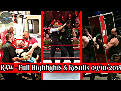 WWE Raw Full Highlights & Results 08/01/2018 | WWE Raw Live | WWE Raw Highlights | WWE Raw Today